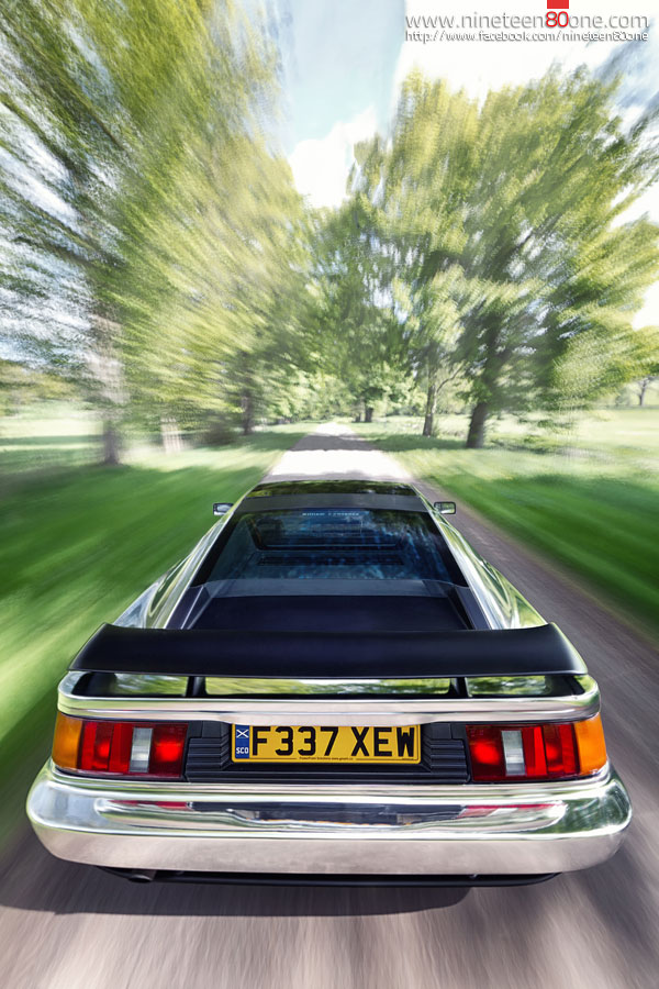 Chrome Silver Lotus Esprit