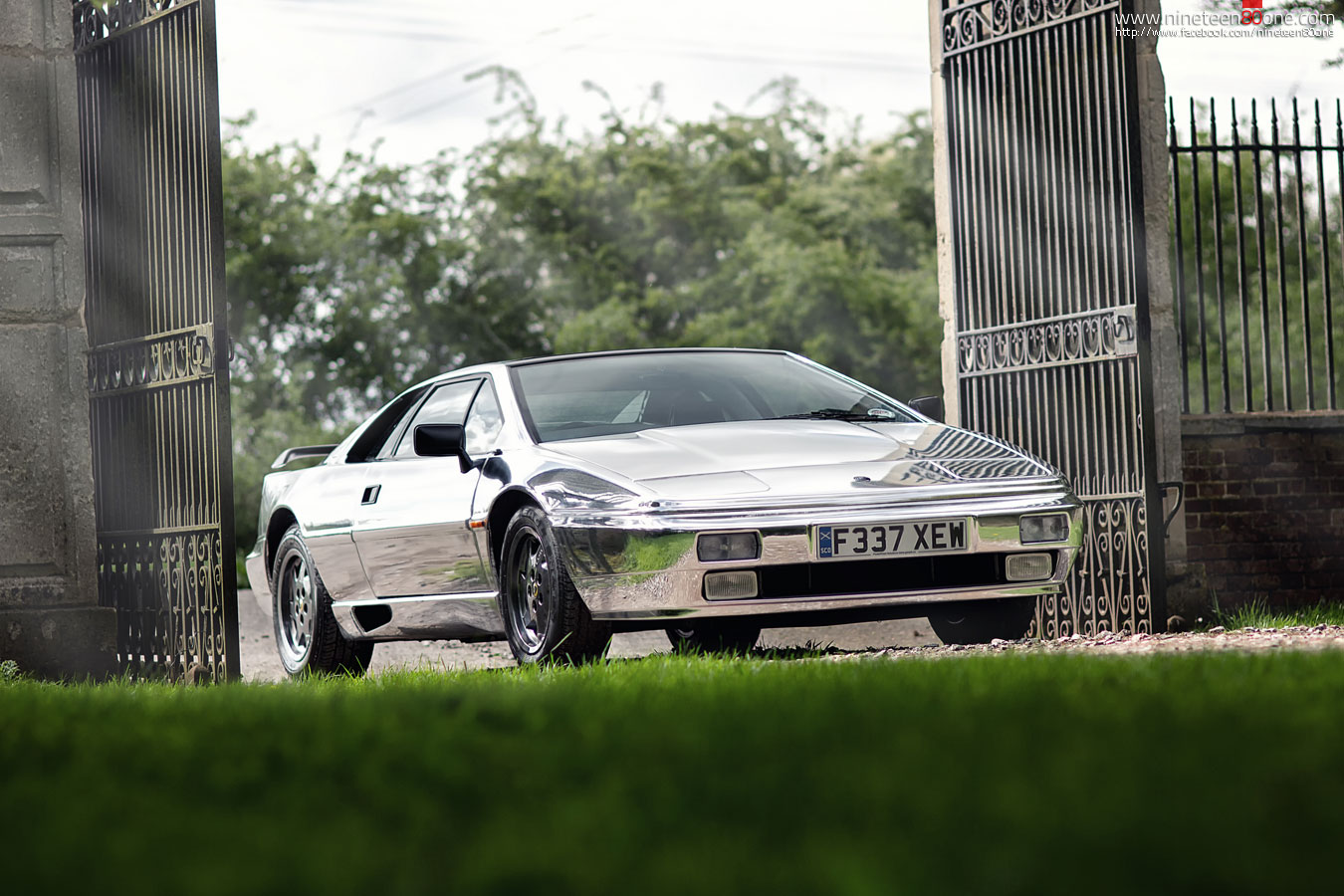 Lotus Esprit Chrome car