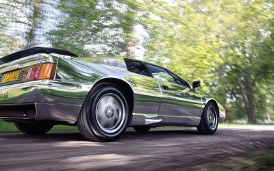 The World's shiniest Lotus Esprit.