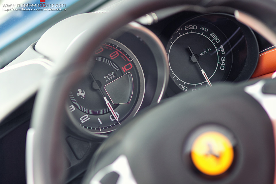 Ferrari California photography