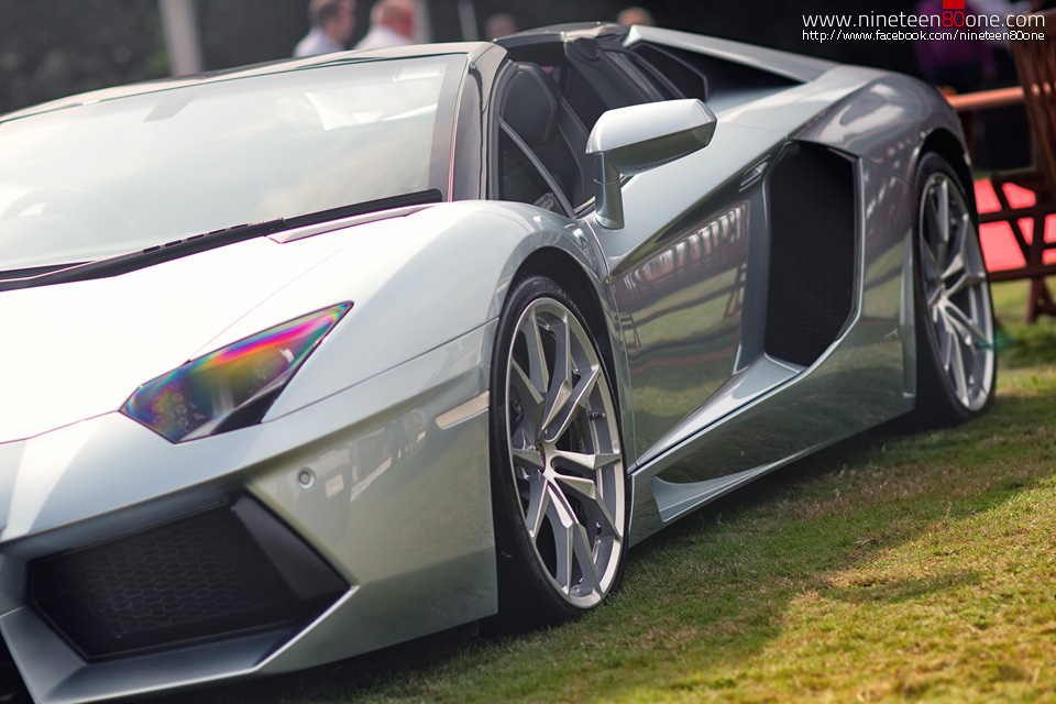 Lamborghini Aventador show pictures