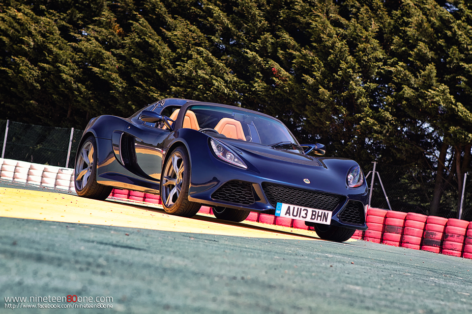 Test drive lotus exige