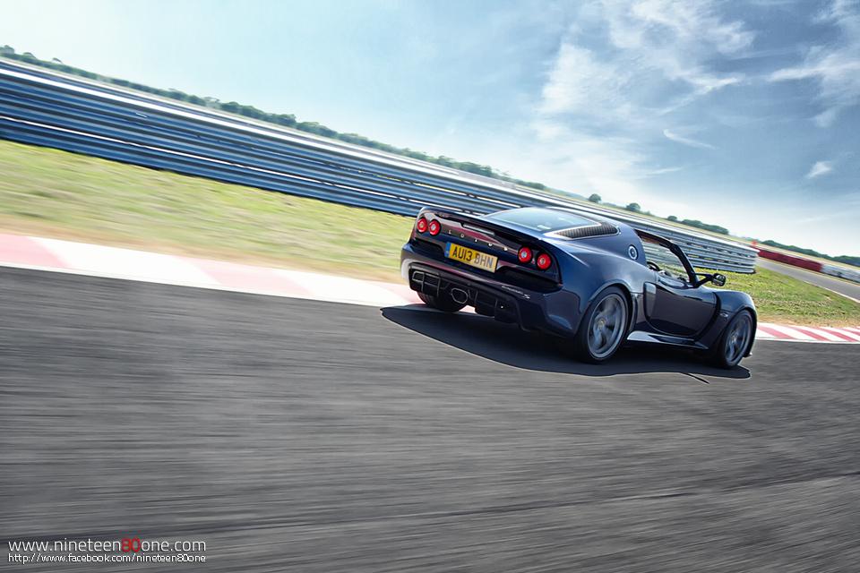 Photoshoot supercar Lotus