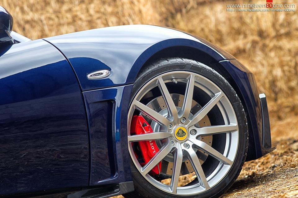 Automotive photography lotus cars
