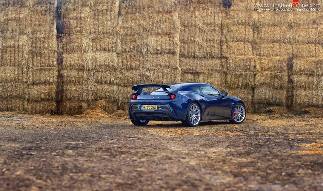 Evora GTE GT350 supercar