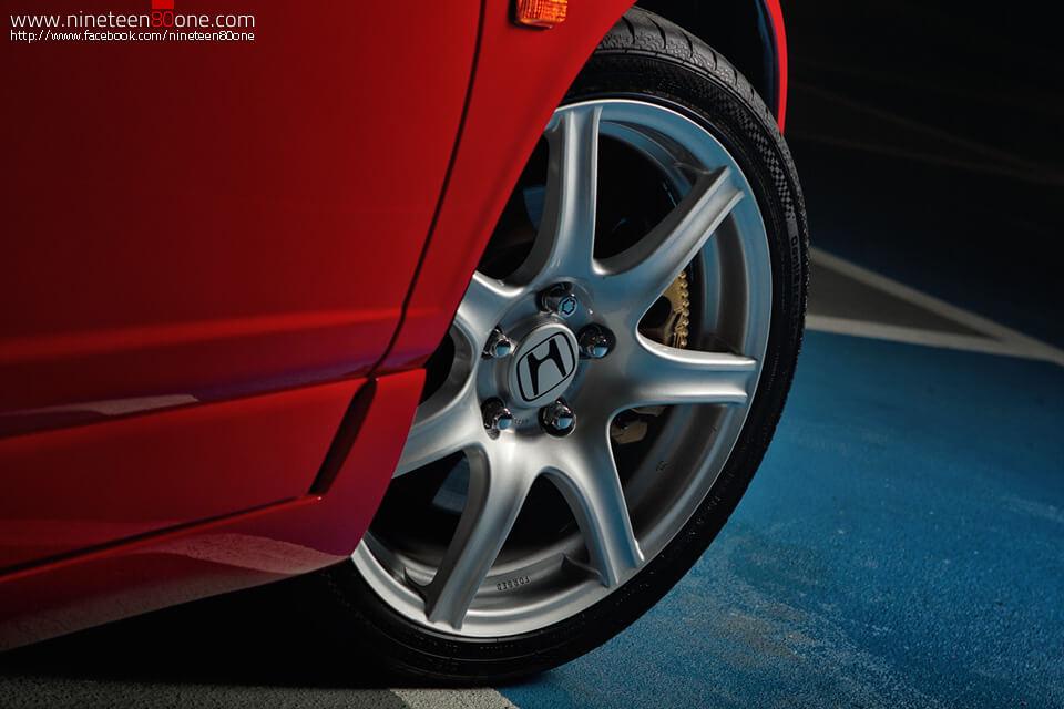 Honda wheels in NSX