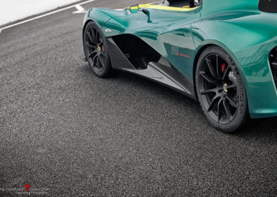 Lotus cars green yellow