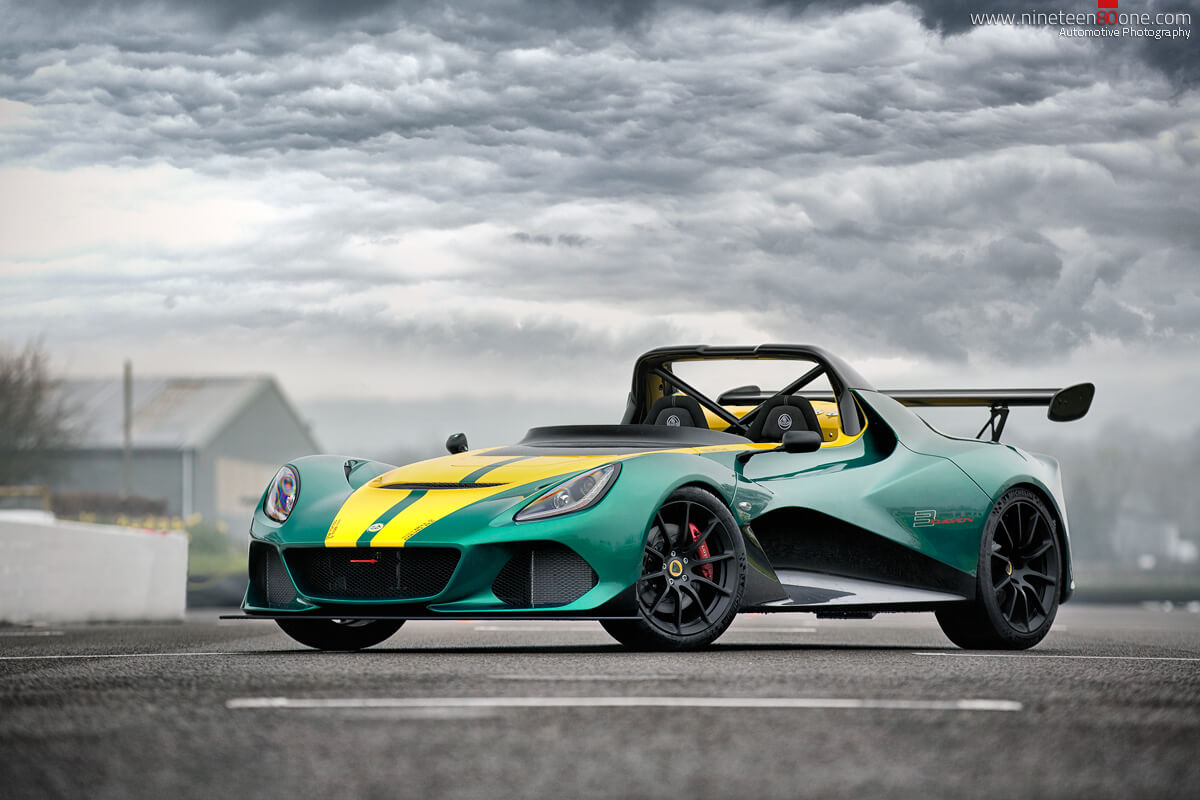 Lotus 311 on track