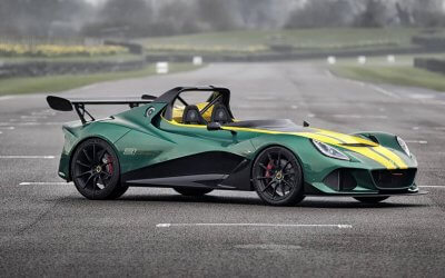 The fastest Lotus ever. Lotus 3-Eleven