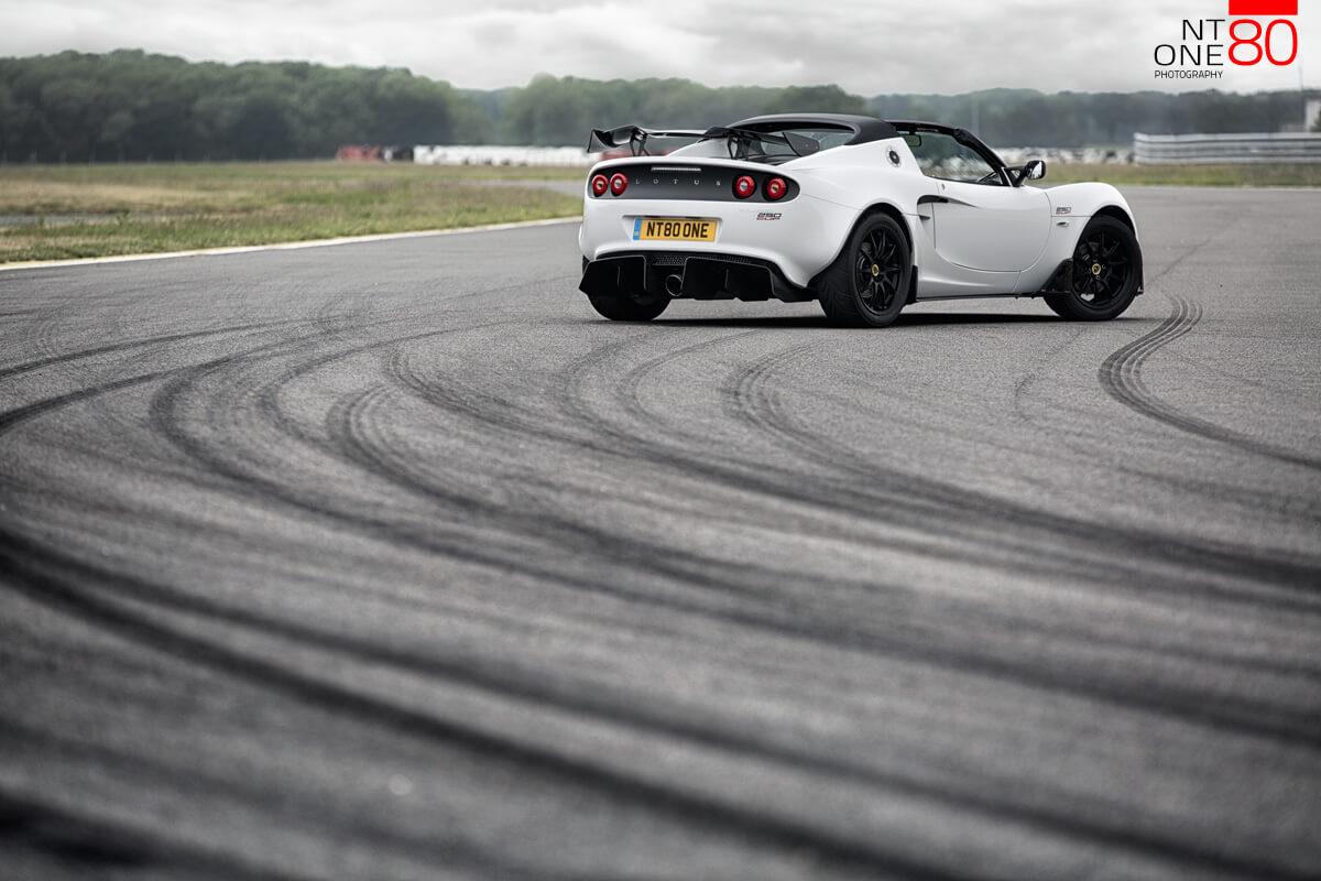Lotus on track photos