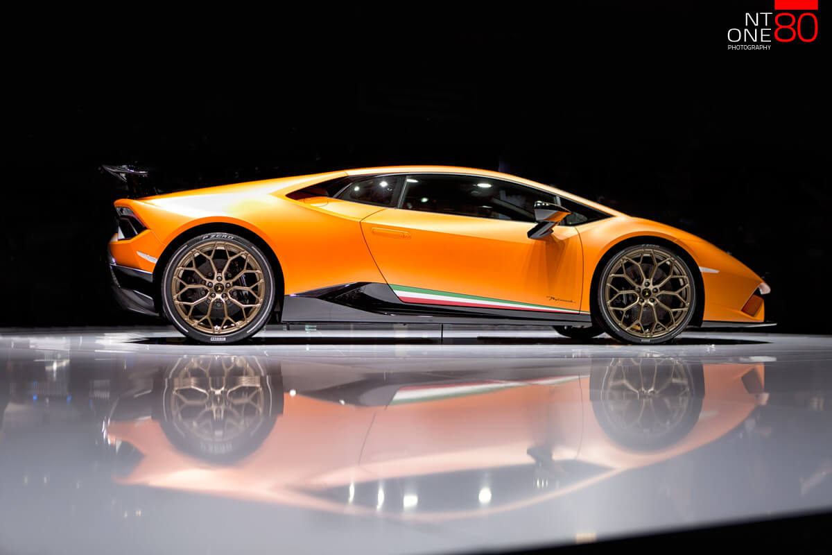 Huracan Performante Orange