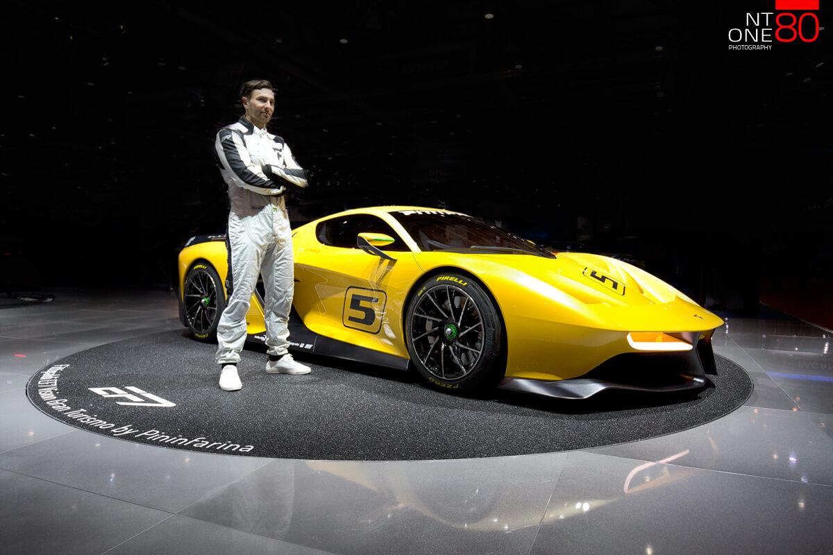 Race cars motorshow