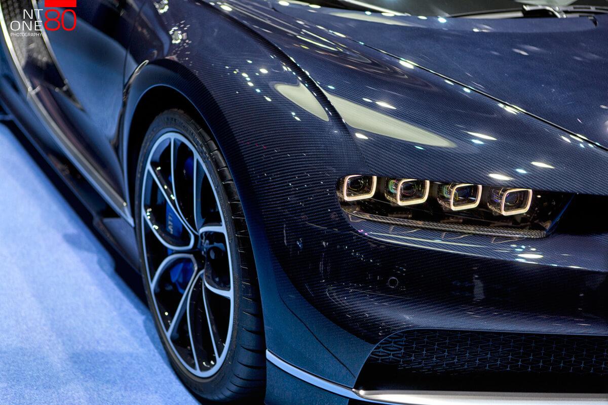 Bugatti Geneva show