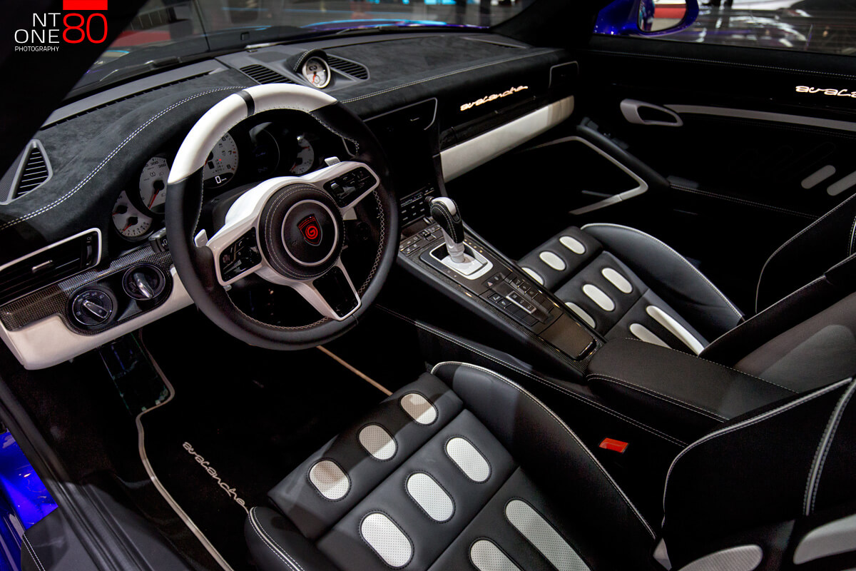 Porsche Interior photos