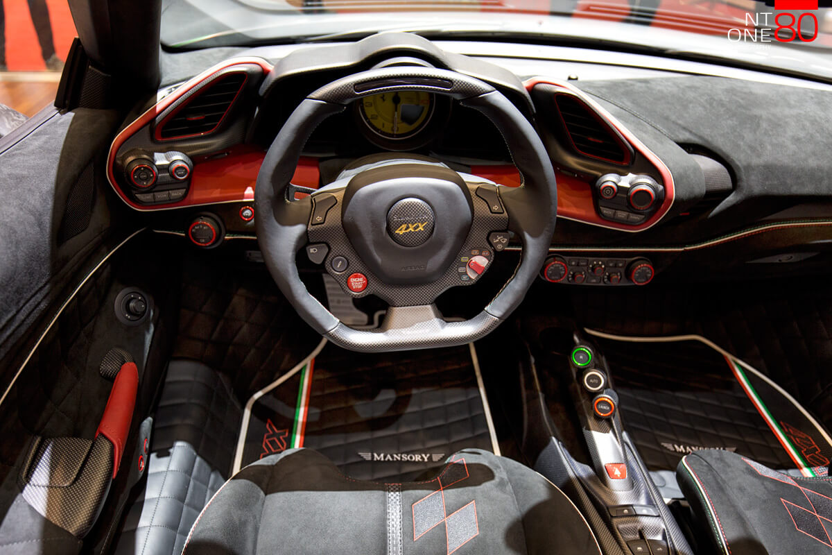 Mansory interior pictures