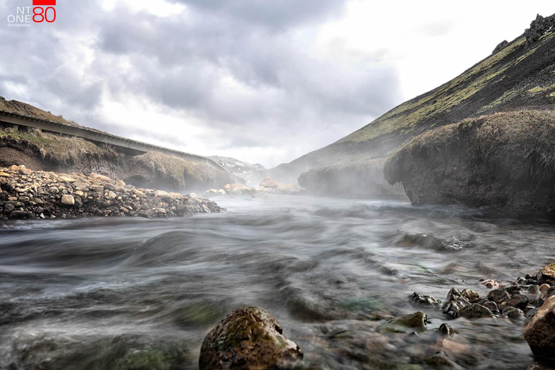 Reykjadalur river