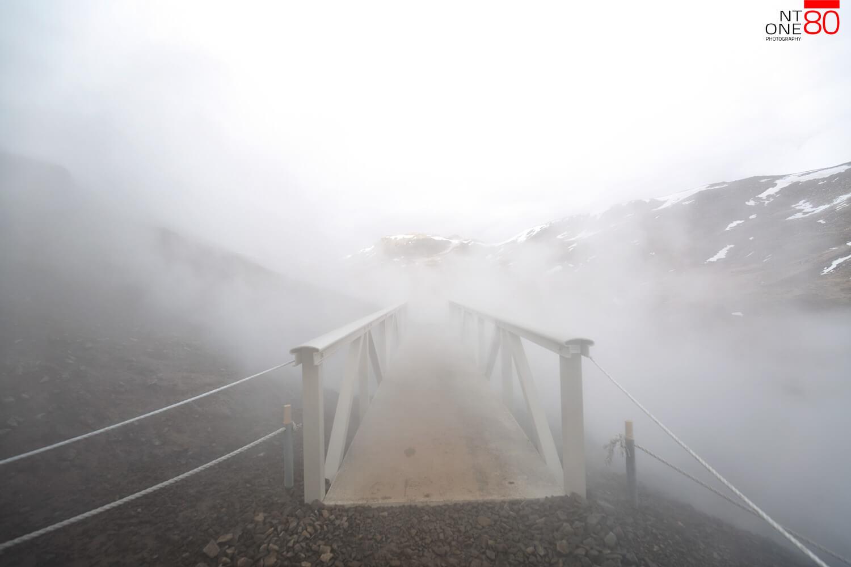 Reykjadalur bridge
