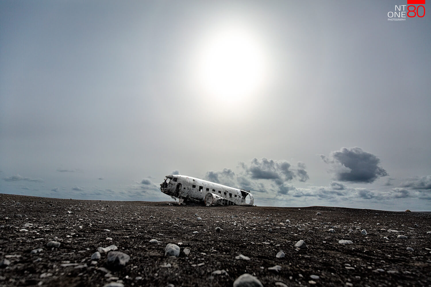 Crashed DC3 Iceland