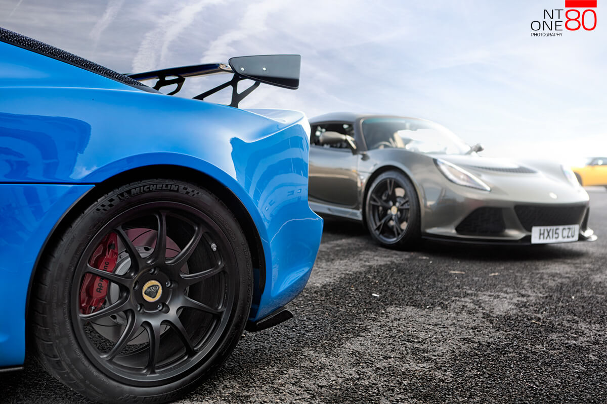 Sports cars photography