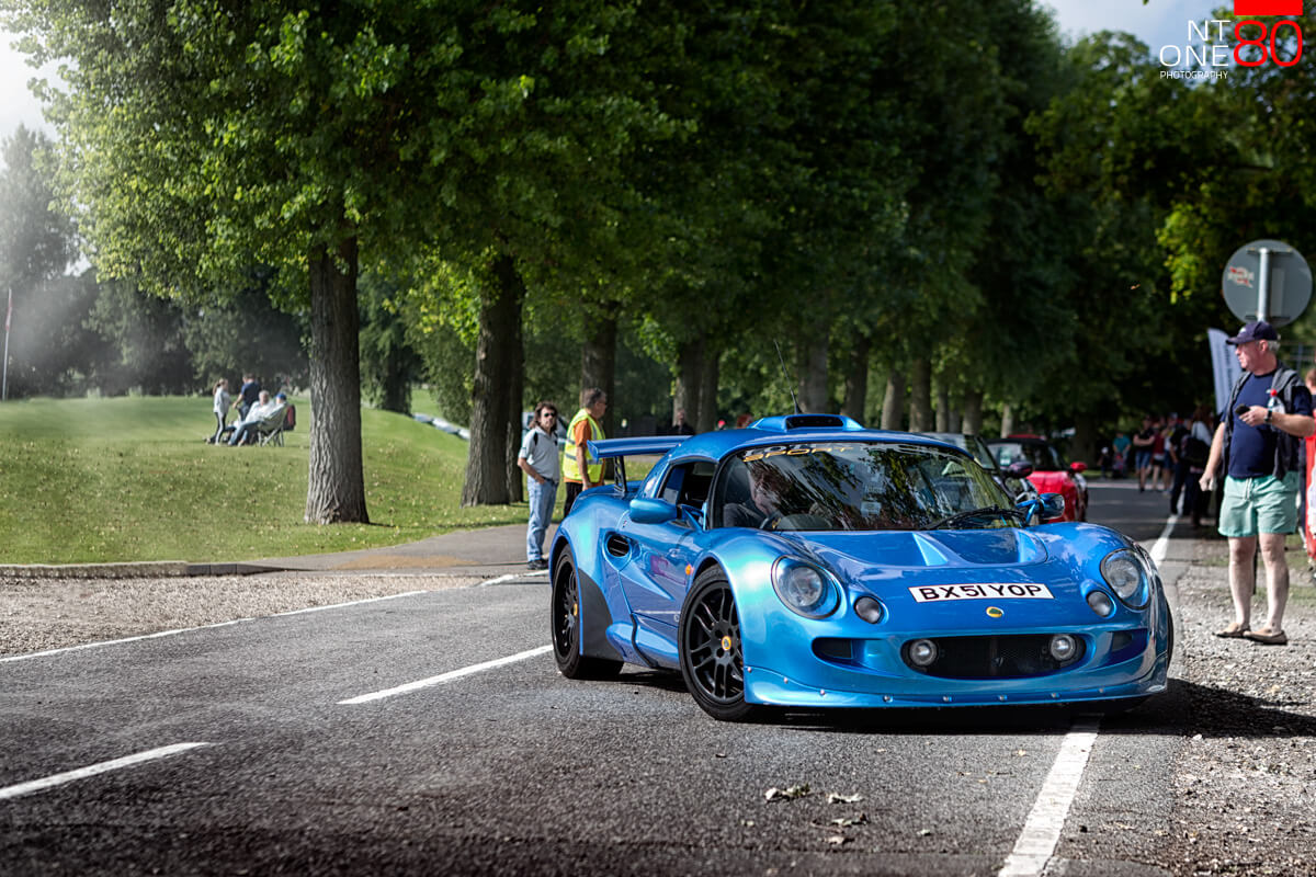 Lotus Exige S1 blue