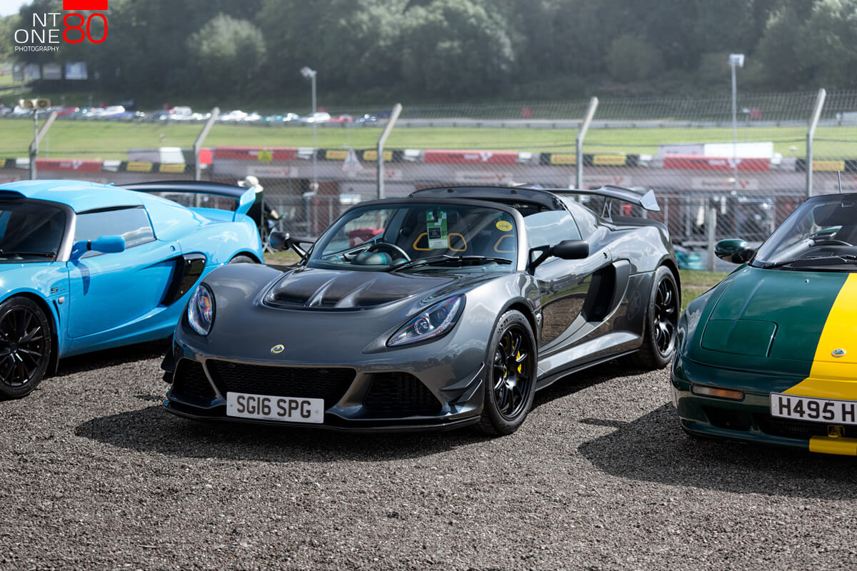 Sports cars lotus meeting