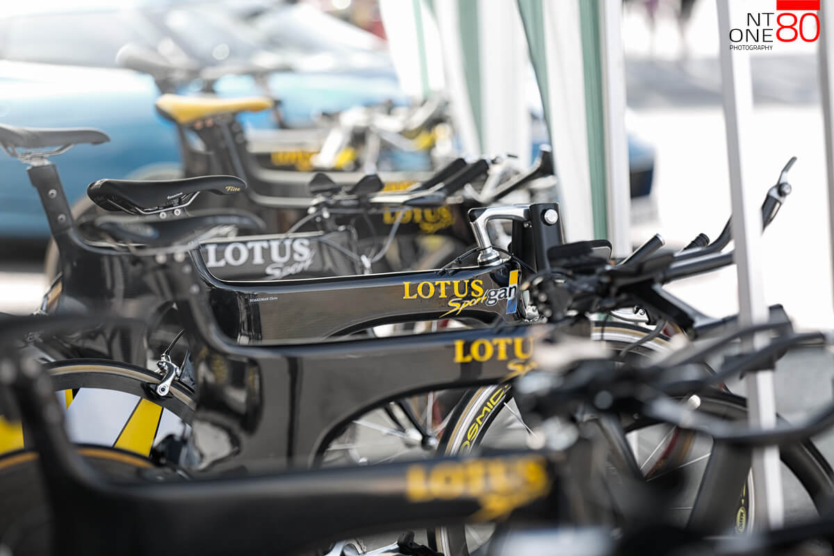 Lotus cycle team bikes