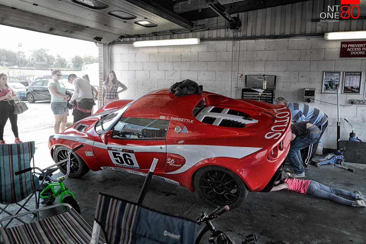 Lotsu Elise racing car