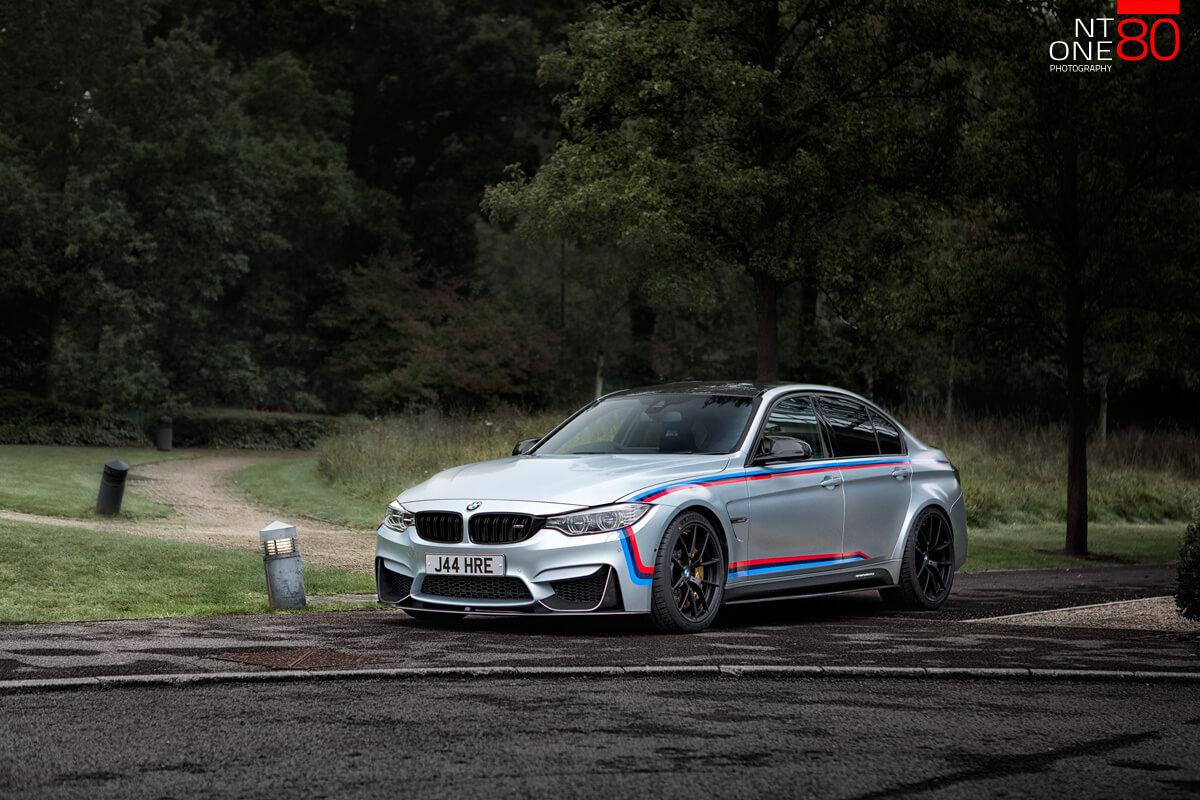 BMW M3 event