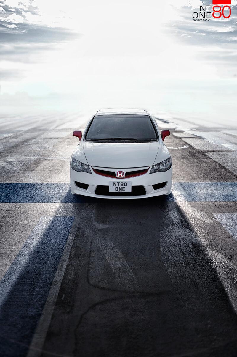 Honda Civic photoshoot morning