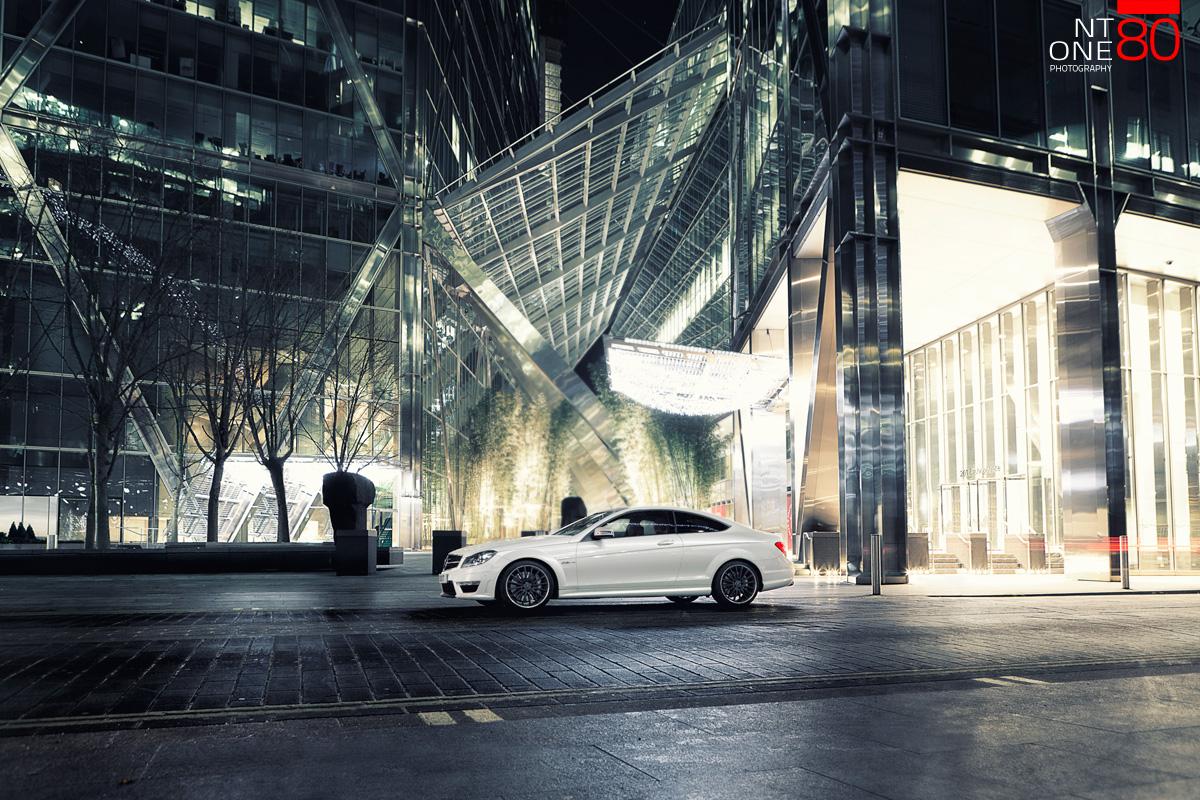 Mercedes London Photoshoot