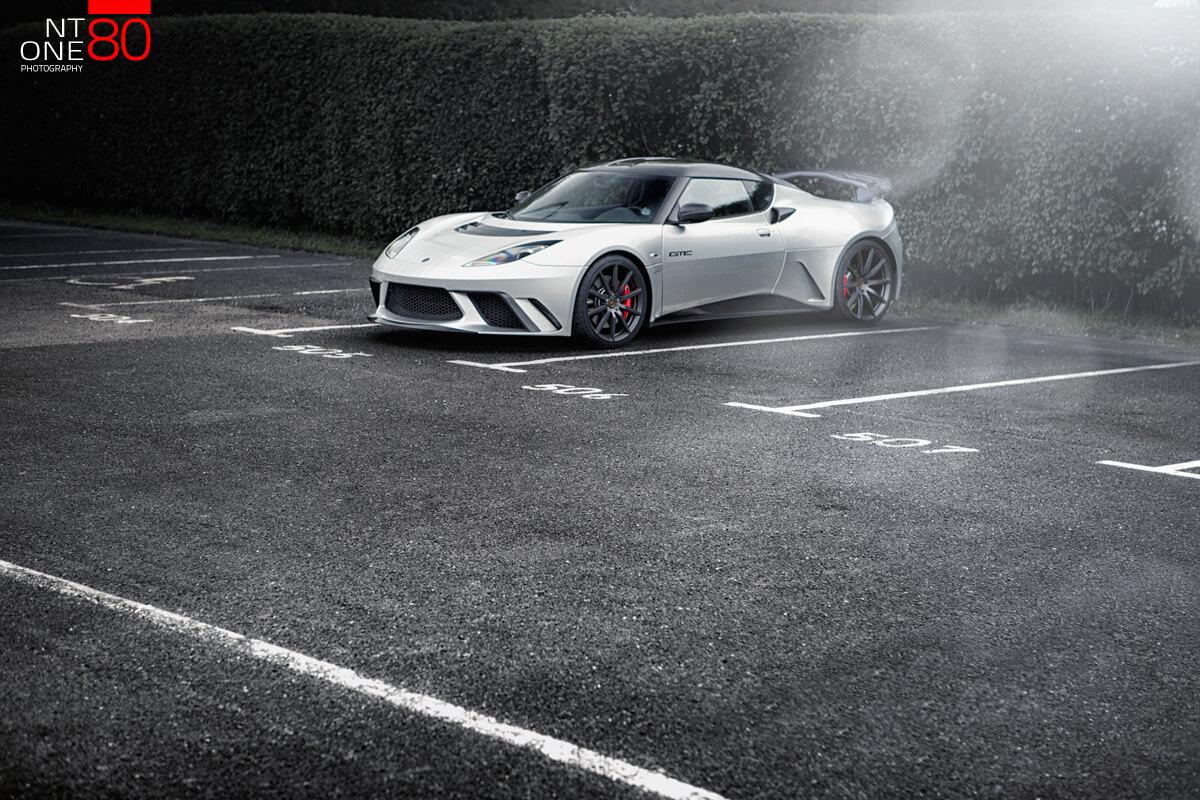 Lotus Evora GTE Silver car