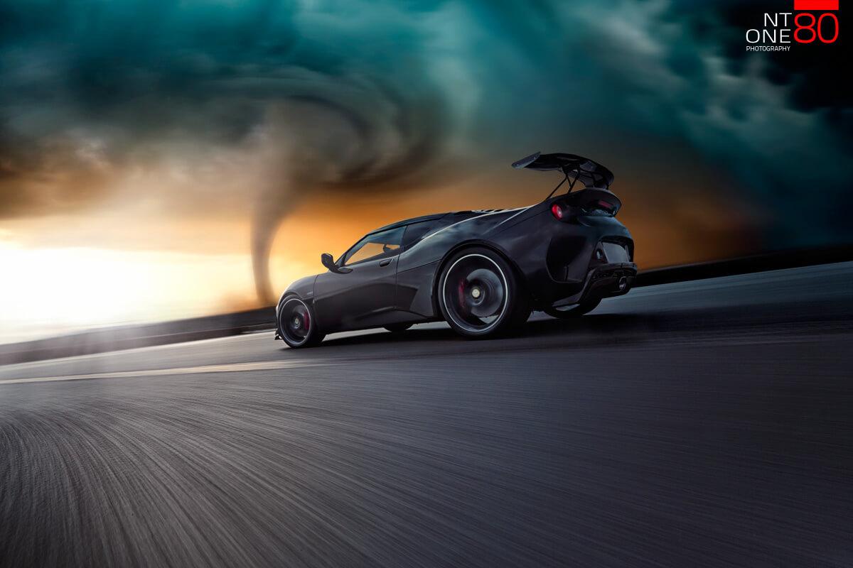 The Storm Chaser Evora GT430