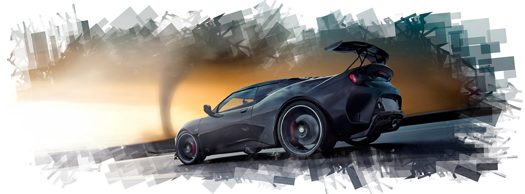 The Storm Chaser. Lotus Evora GT430.