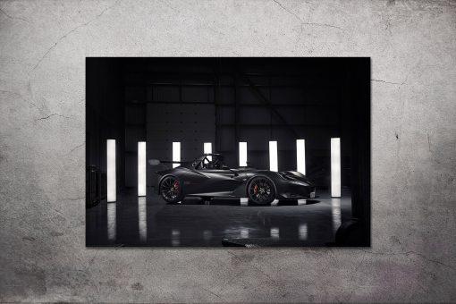 Lotus Car Picture Aluminium
