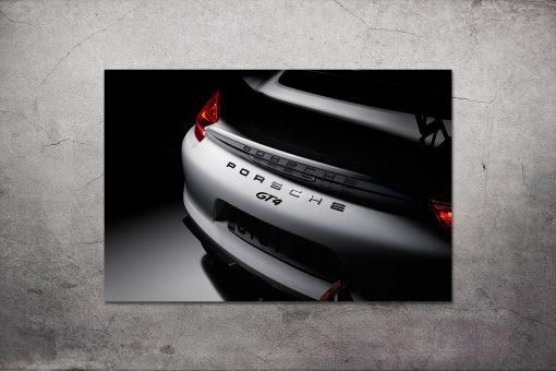 Porsche GT4 Wall Art Print