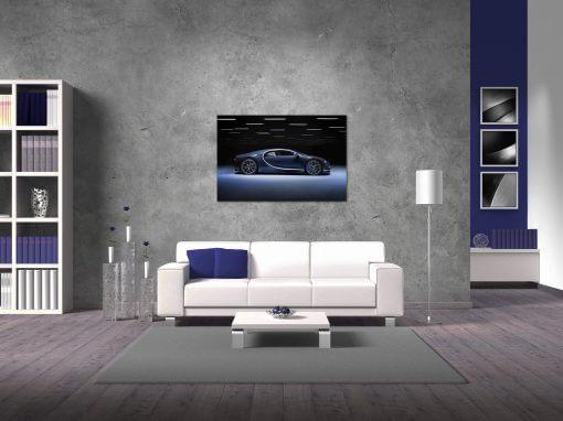 Bugatti Chiron Wall Art