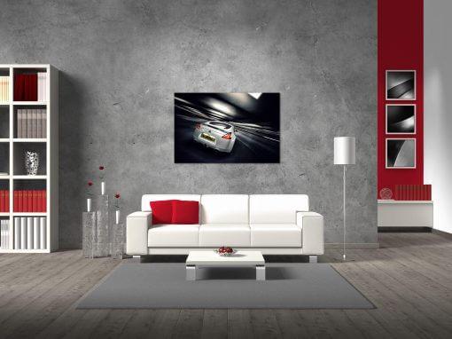 Cars Nissan Wall Print