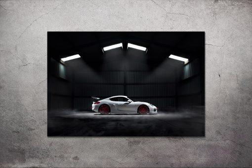 Porsche GT4 Poster