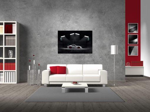 Wall Print Poster Acrylic Porsche