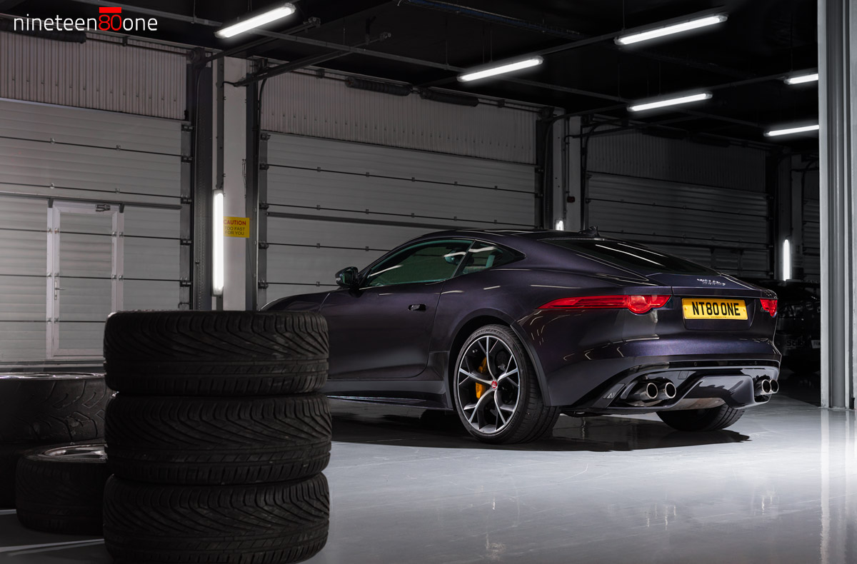 Jaguar F Type automotive photography