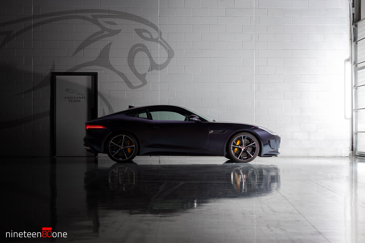 Jaguar F-Type Race Car