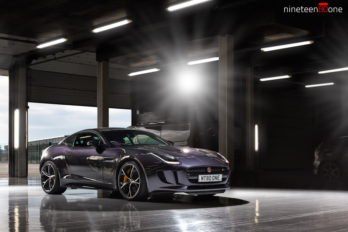 jaguar F type R trackday