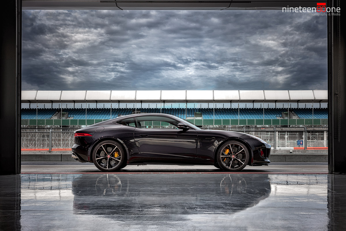 jaguar f-type R photoshoot