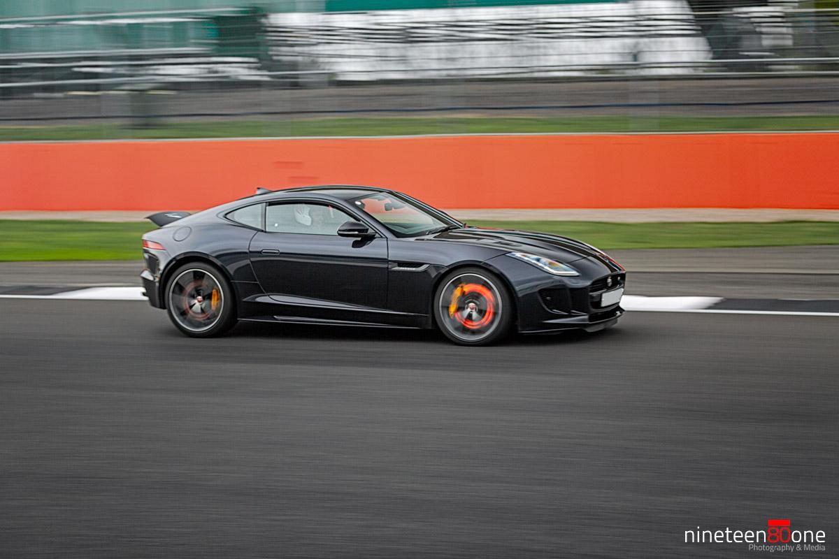 jaguar ftype silverstone race