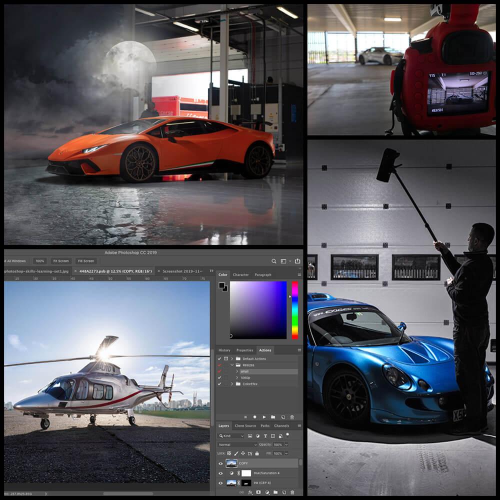 Photography Photoshop Skills Learning Workshops