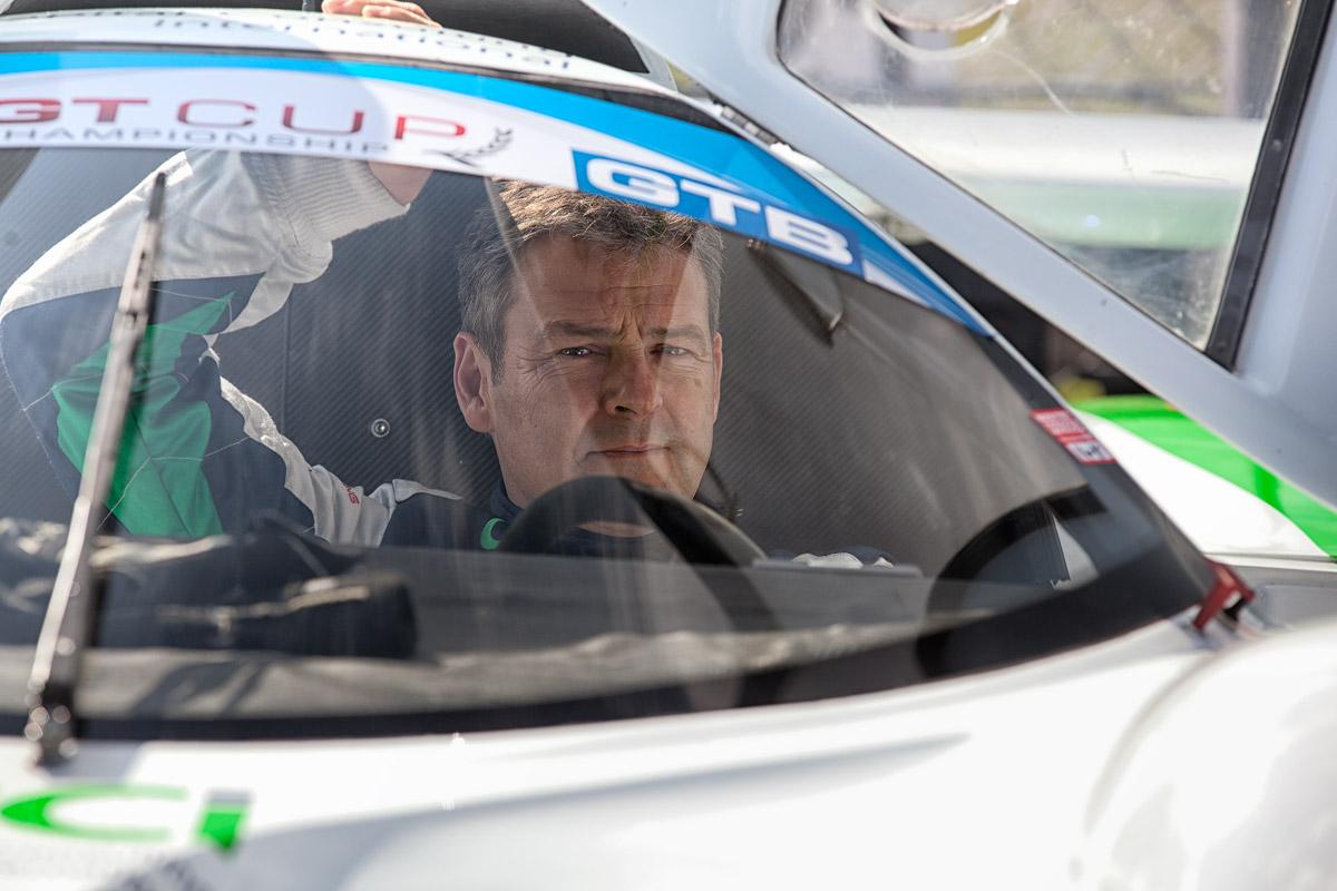 motorsport gt race driver