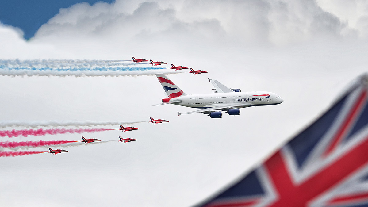 airbus red arrows