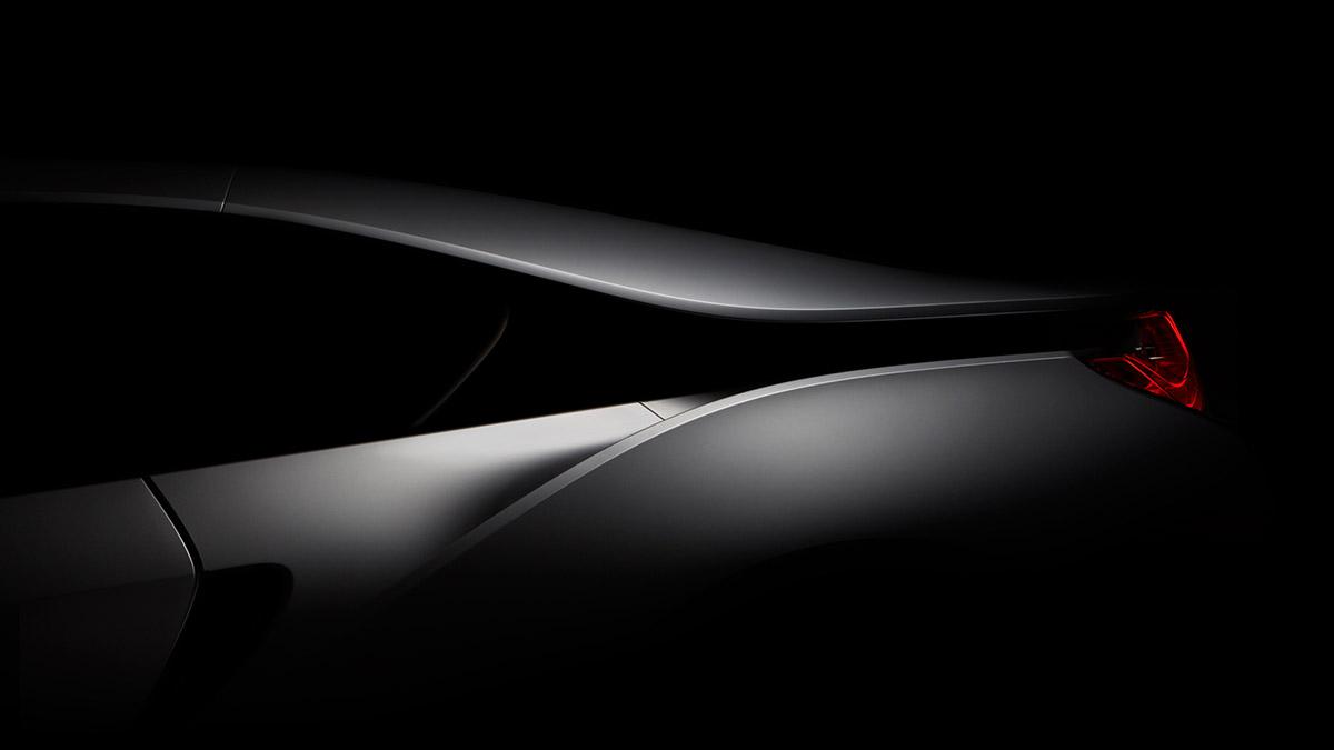 BMW i8 side shot