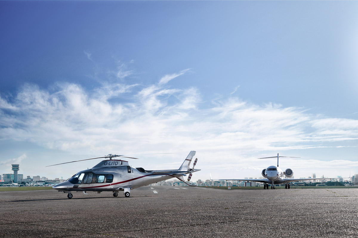 Transportatio jet photography