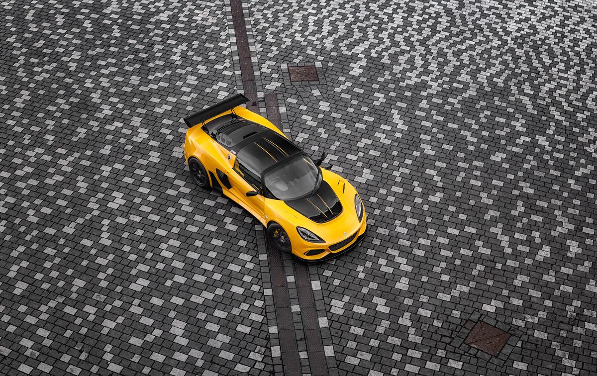 Lotus Exige yellow GT430